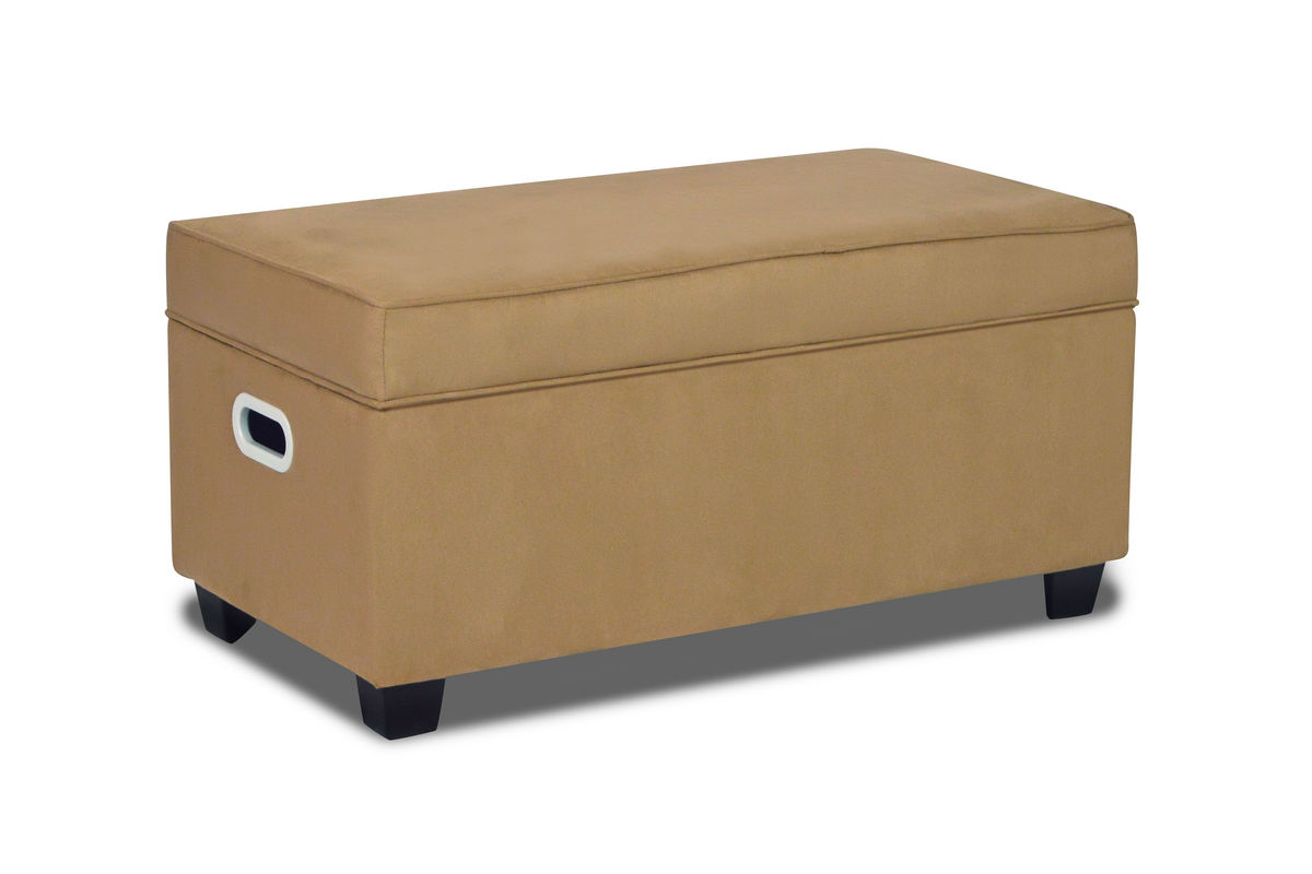 zippity kids jack storage bench latte at gardner white