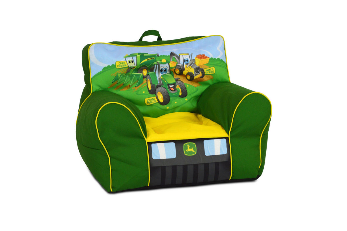Zippity Kids Soft Sided Chair With Handle Johnny Tractor
