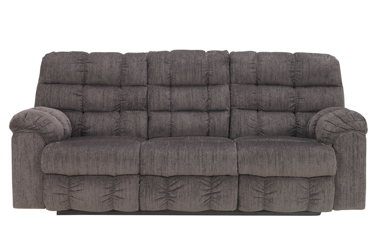 Leona chenille reclining sofa with drop down table leona chenille reclining sofa with drop down table from gardner white furniture geotapseo Choice Image
