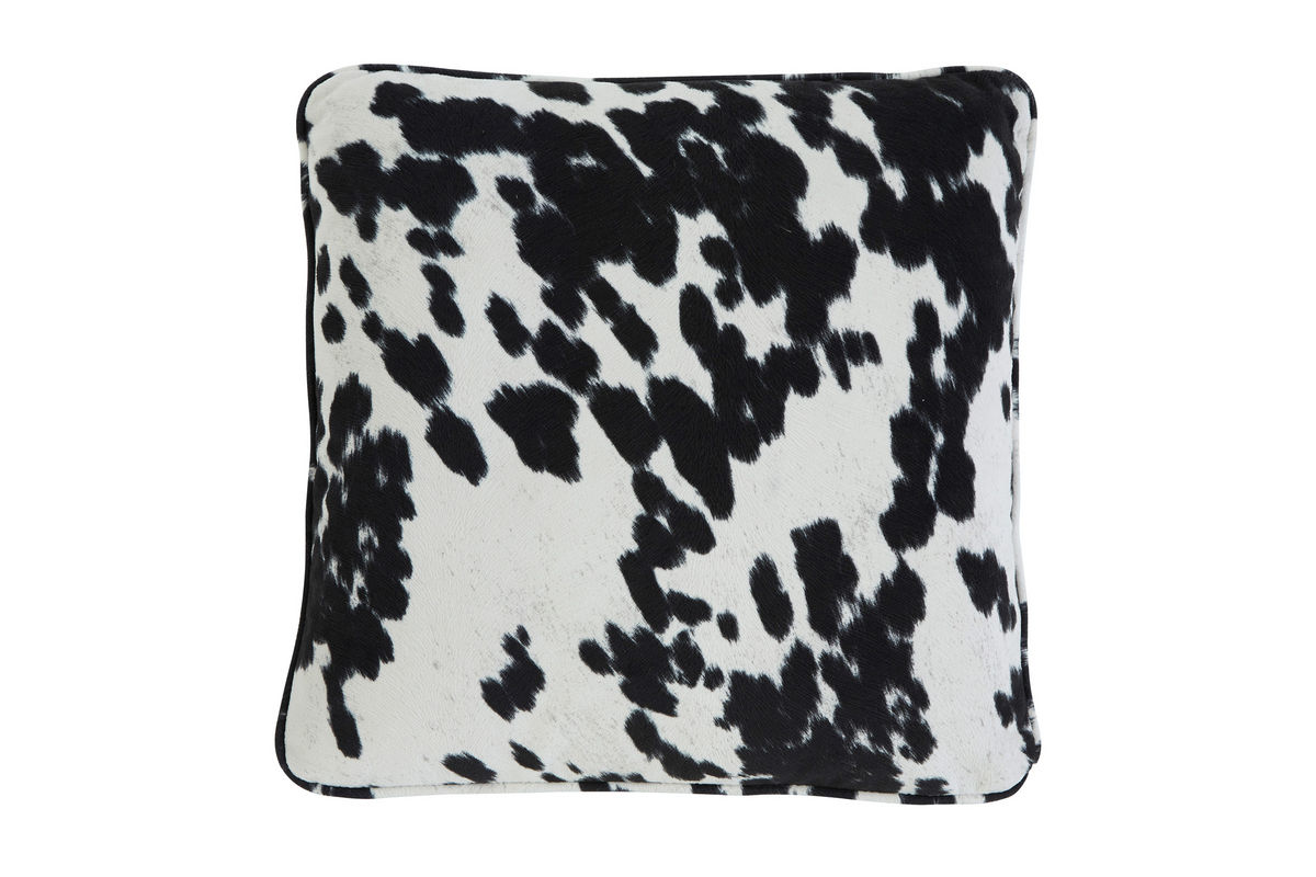 Ashley Faux Cowhide Accent Pillow At Gardner-White
