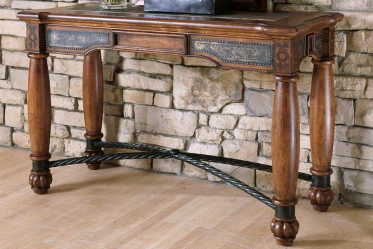 Fine Slate Cherry Sofa Table Beutiful Home Inspiration Truamahrainfo