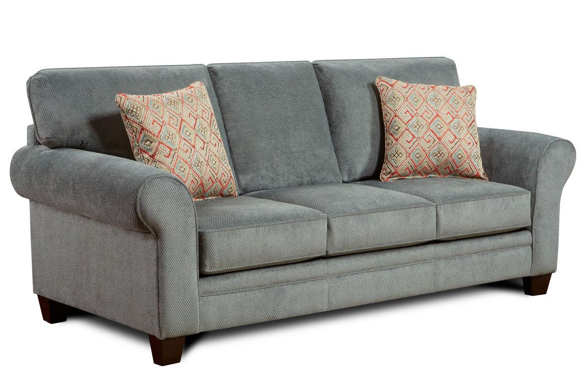 gazelle microfiber sofa at gardner white. Black Bedroom Furniture Sets. Home Design Ideas