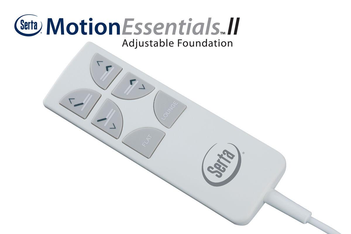 Serta 174 Motion Essentials Ii Queen Adjustable Foundation