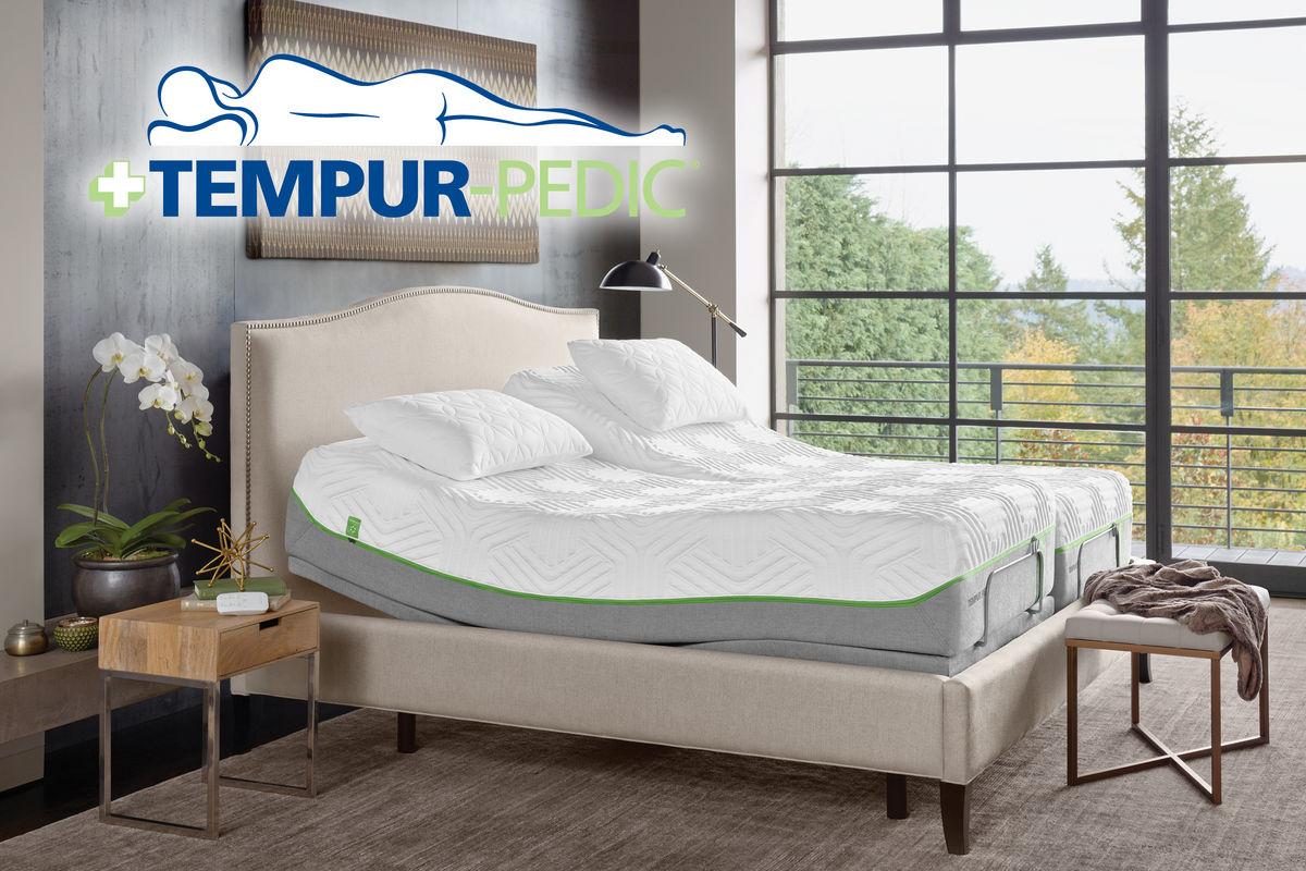 Tempur Ergo Plus Twin Xl King Split Adjustable Foundation