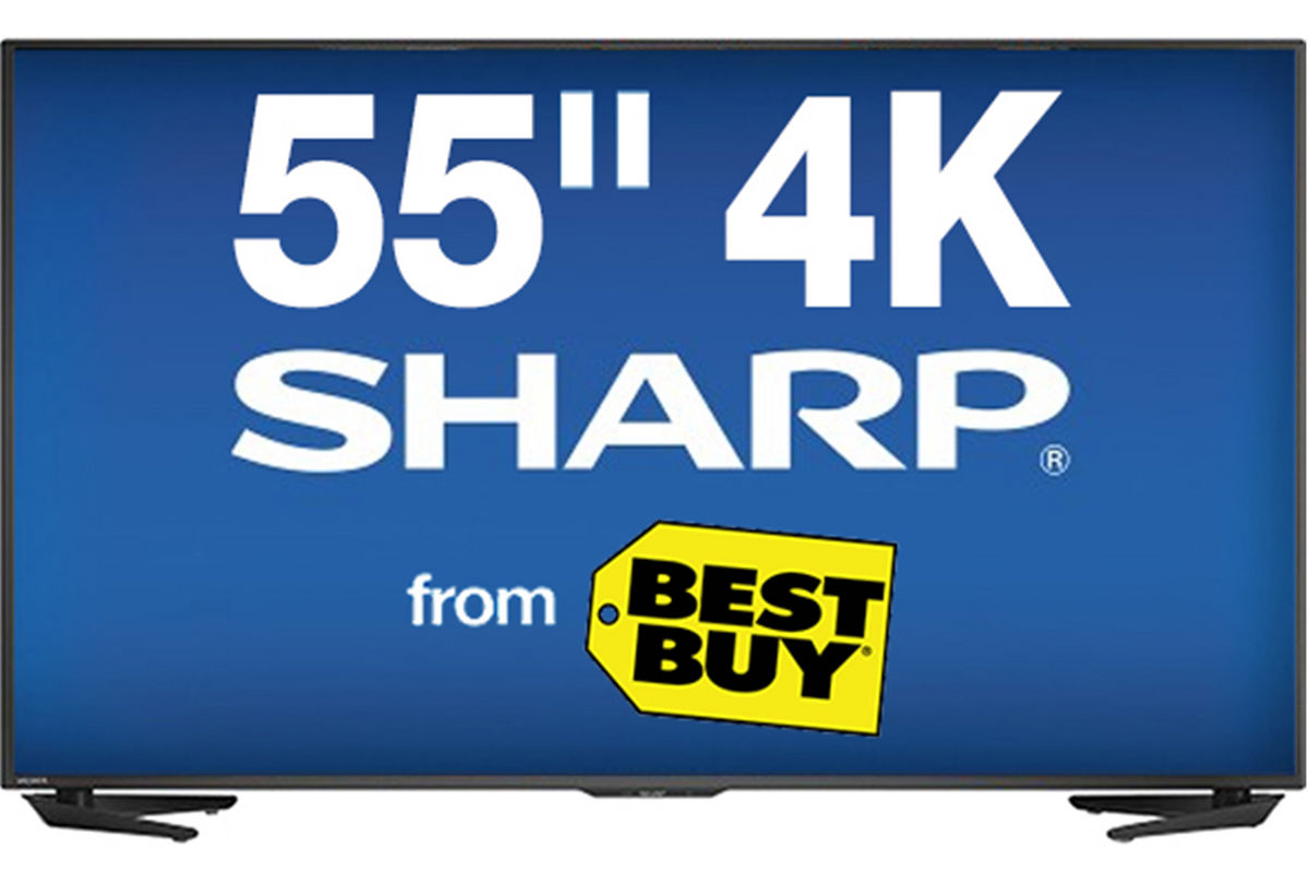 55 Quot Sharp Smart 4k Led Tv At Gardner White