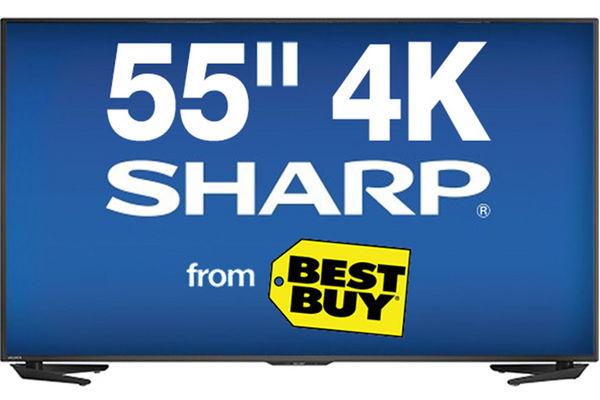 55 Quot Sharp Smart 4k Led Tv