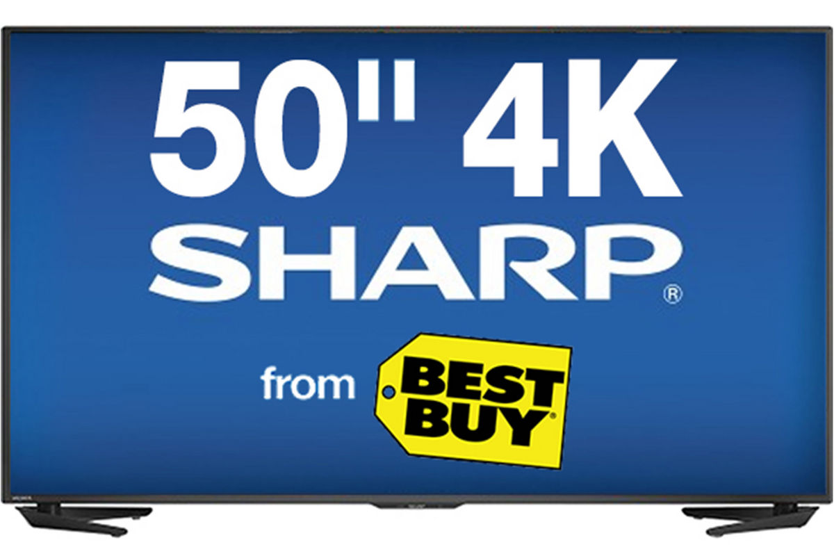 50quot Sharp Smart 4K LED TV at Gardner White : 592701200x800 from www.gardner-white.com size 1200 x 800 jpeg 81kB