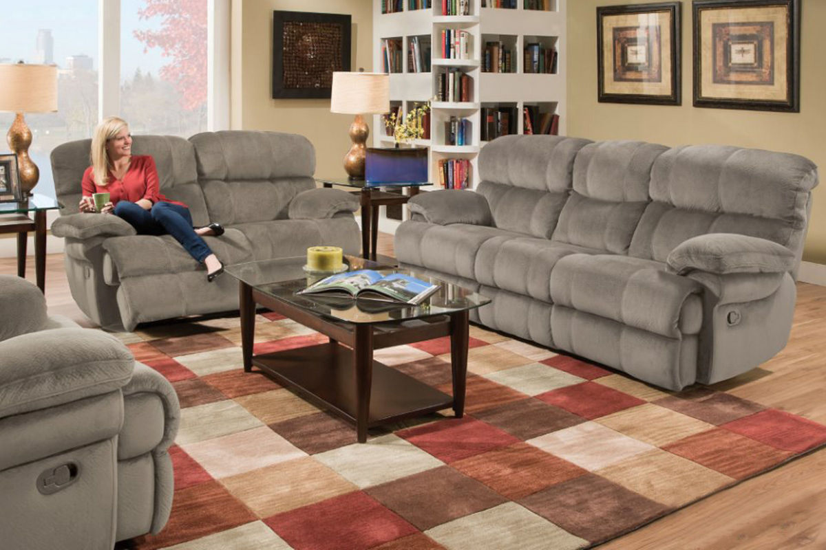 Excellent Smoky Power Reclining Sofa Loveseat Gamerscity Chair Design For Home Gamerscityorg