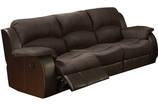 Lorenzo Microfiber Reclining Sofa