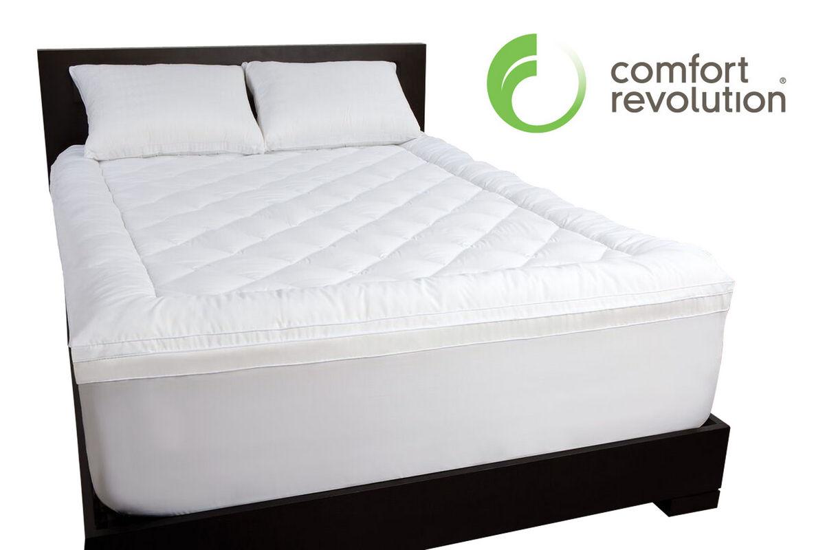 California King Pillow Top 21 Memory Foam Topper At Gardner White