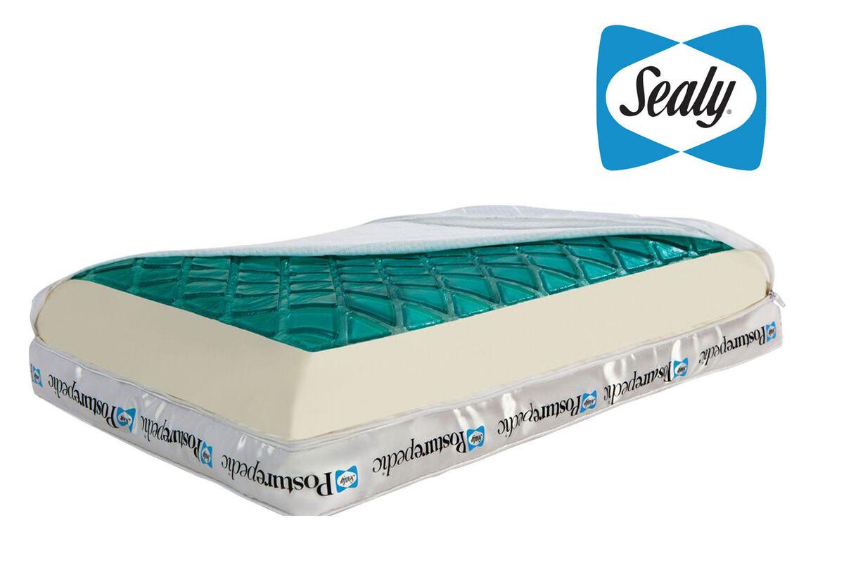 Sealy Reversible Hybrid Gel Pillow At Gardner White
