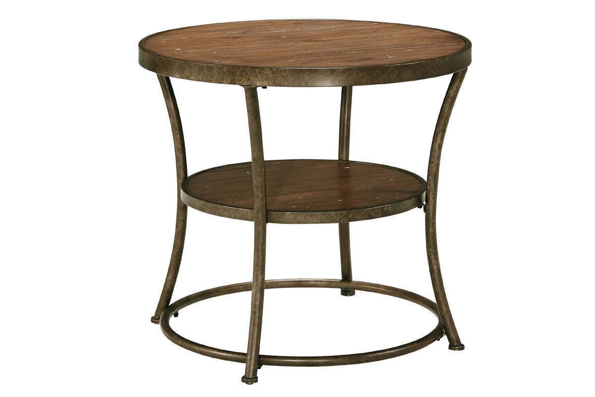 nartina round end table at gardner white. Black Bedroom Furniture Sets. Home Design Ideas