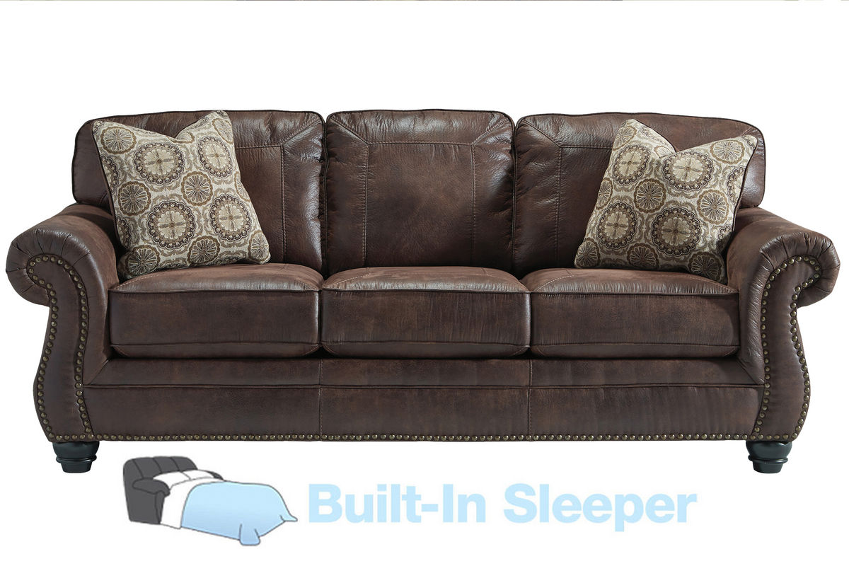 Merveilleux Breville Brown With Nailhead Sleeper Sofa From Gardner White Furniture