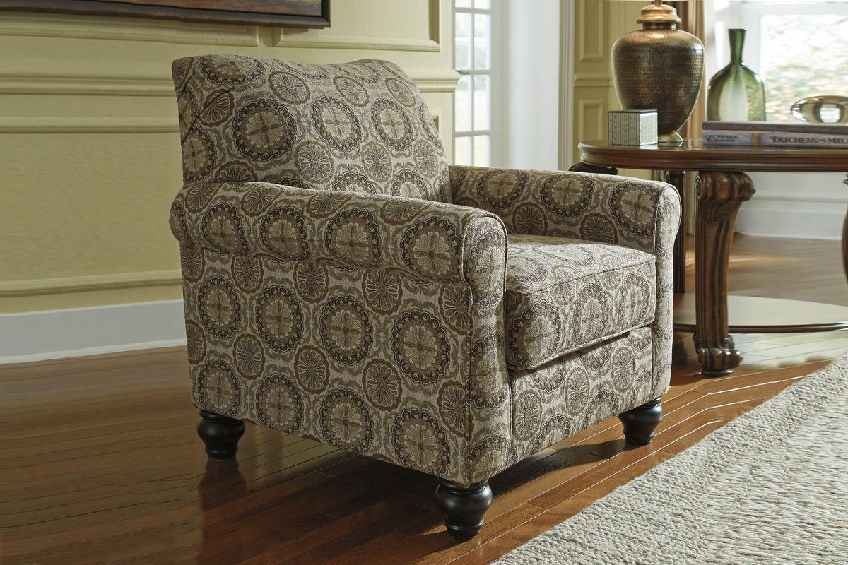 Breville Burlap Accent Chair At Gardner White