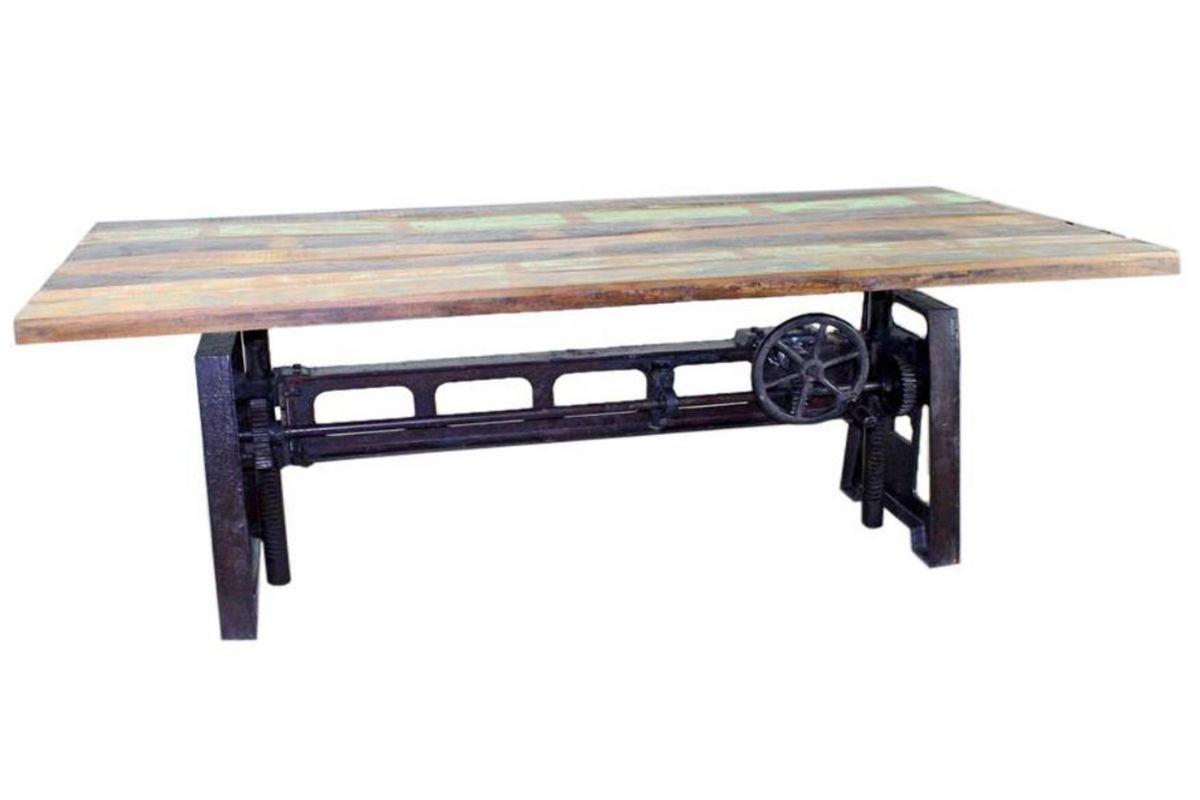 urban adjustable table top with base at gardner white. Black Bedroom Furniture Sets. Home Design Ideas
