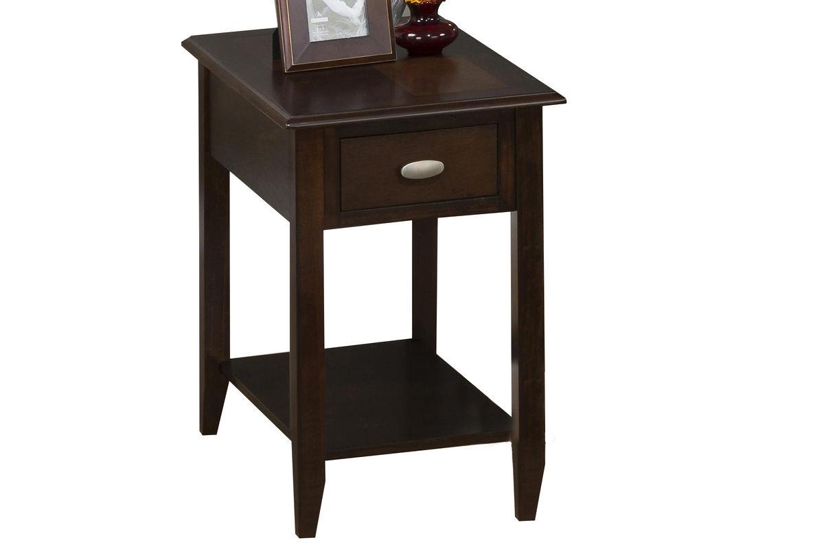 Merlot Chairside Table from Gardner-White Furniture