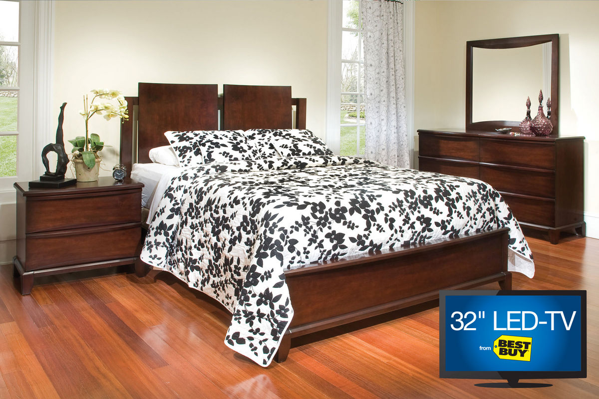 Tacoma 5-Piece Queen Bedroom Set with 32\