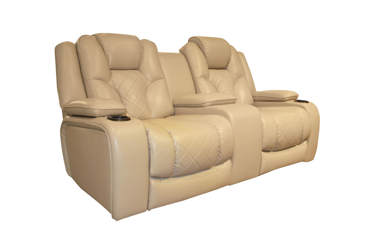 Turismo power reclining loveseat with console Power reclining sofas and loveseats