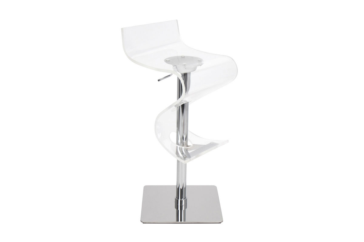 Viva Clear Acrylic Bar Stool By Lumisource At Gardner White