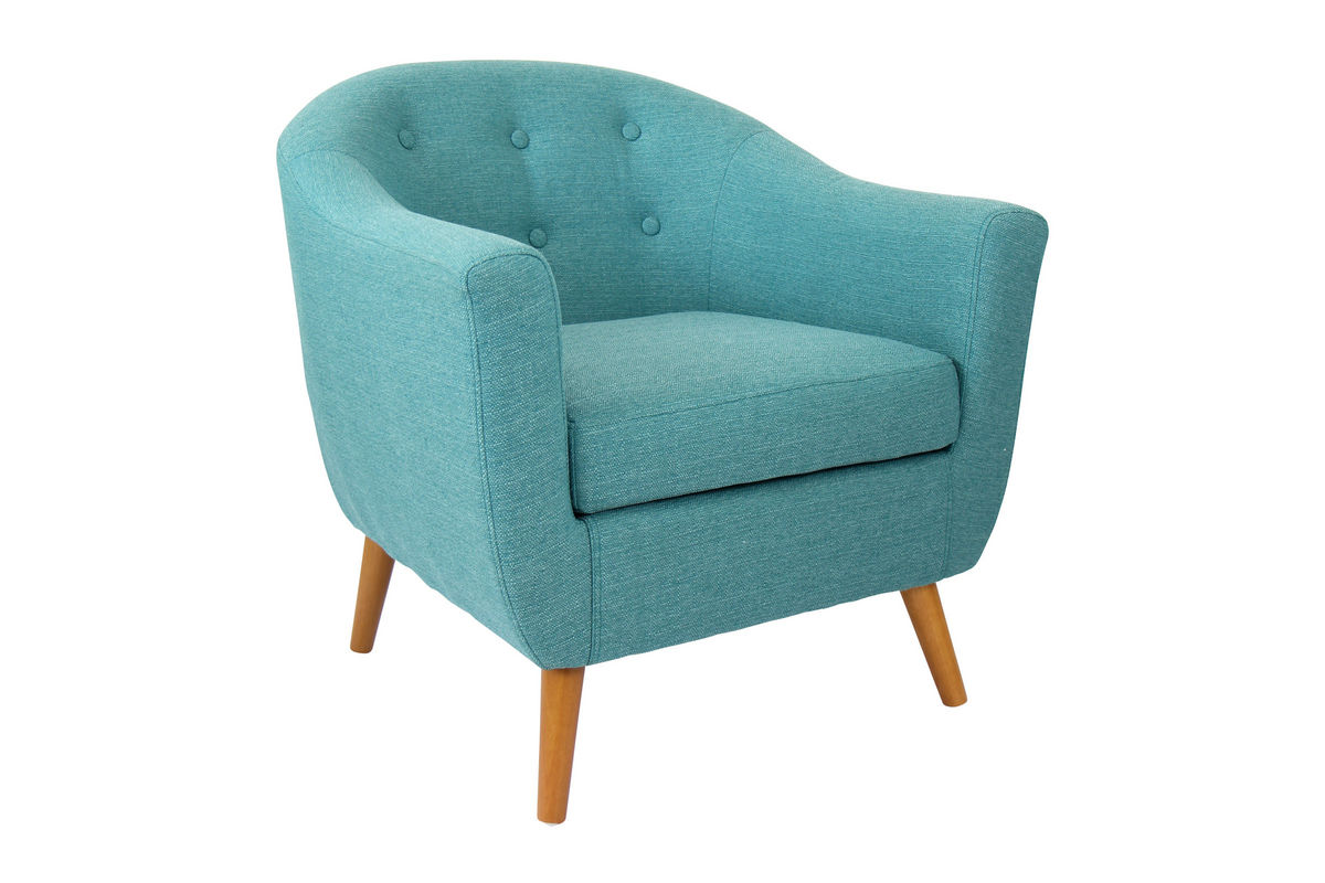 Rockwell Teal Chair By Lumisource At Gardner White