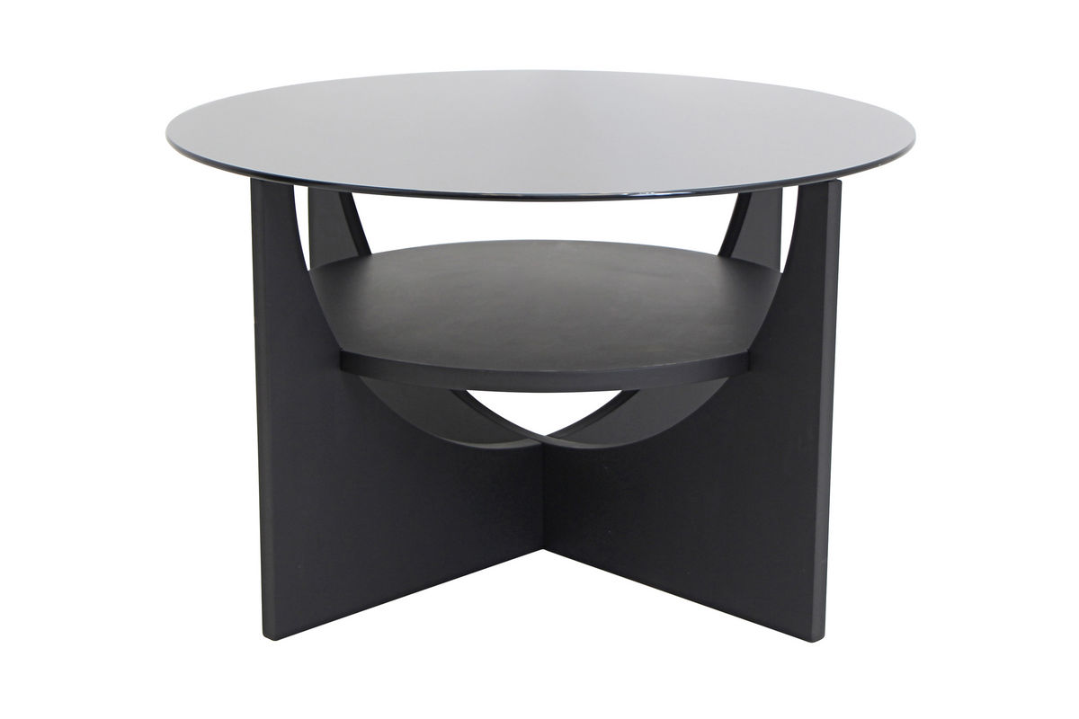 Molly Black Cocktail Table By Lumisource At Gardner White