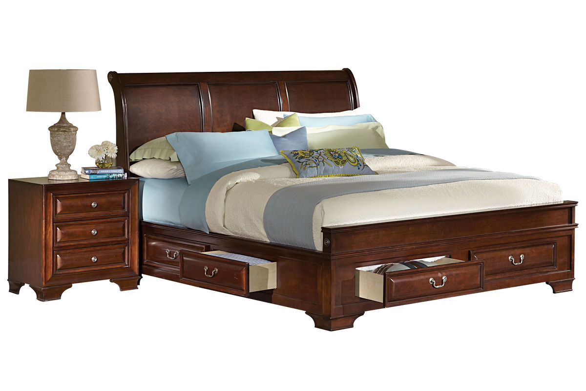 Cadence Queen Storage Bed from Gardner-White Furniture