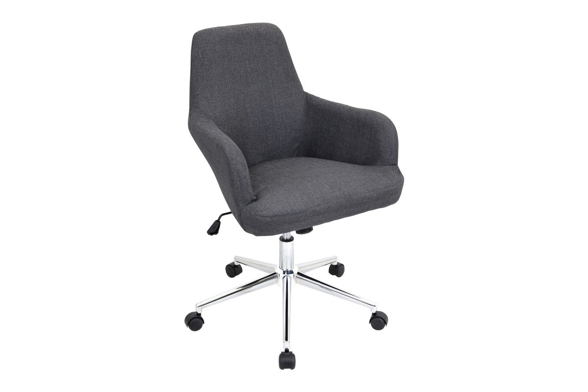Degree Grey Office Chair Grey by LumiSource from Gardner-White Furniture
