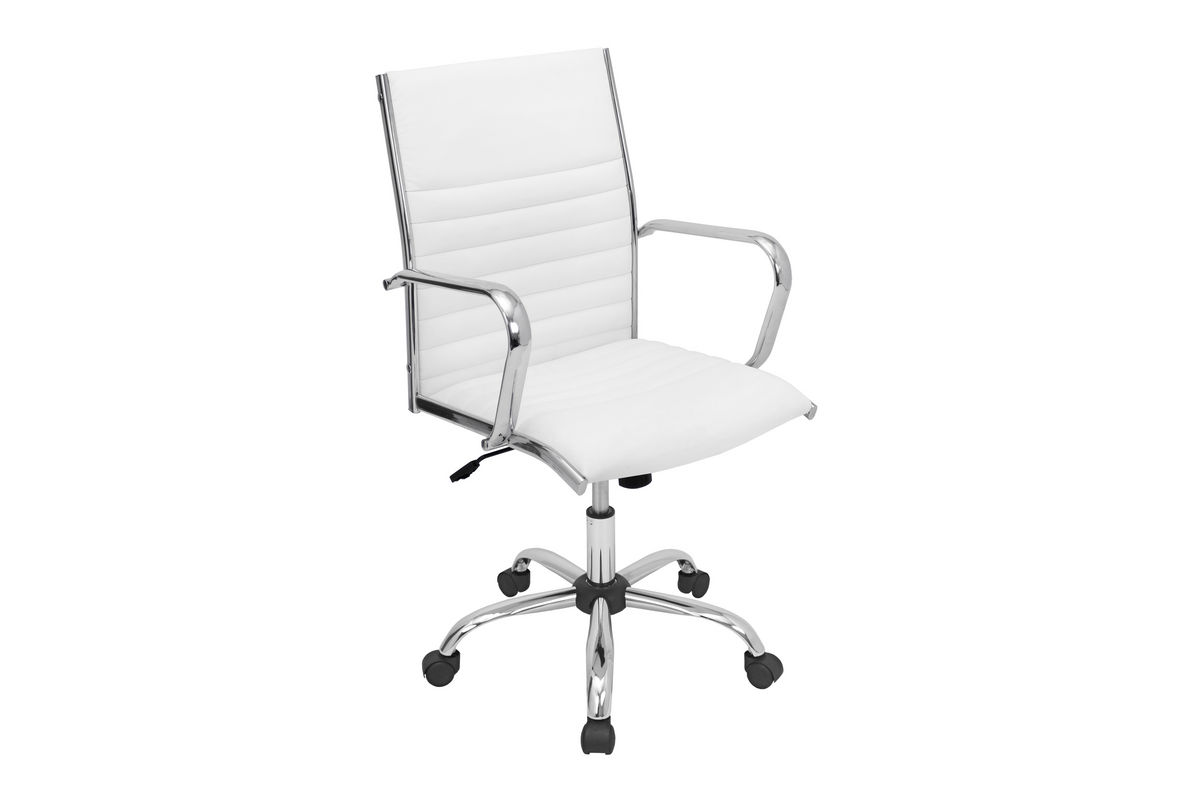 Master White Office Chair by LumiSource from Gardner-White Furniture