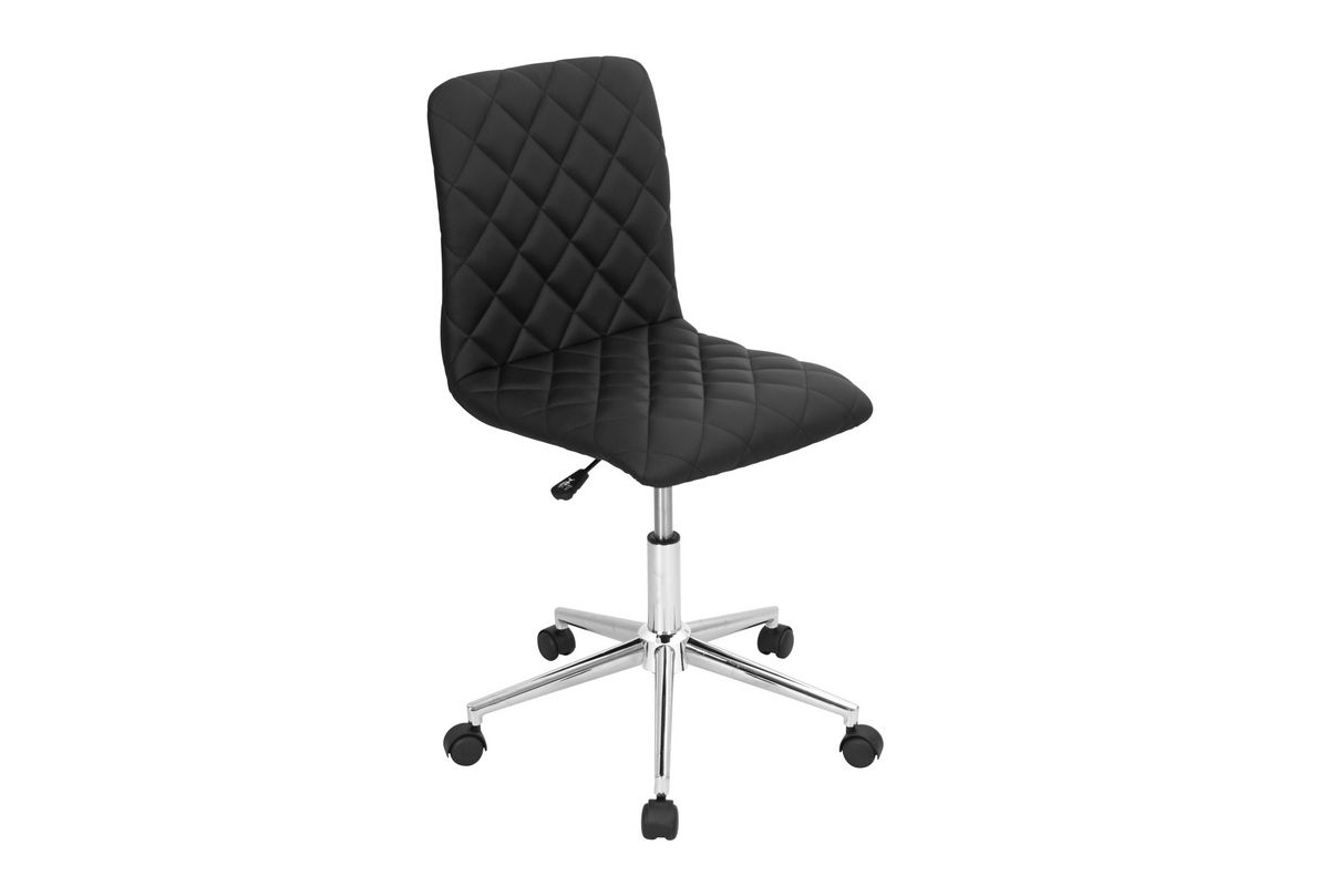 Tessel Black Office Chair by LumiSource from Gardner-White Furniture