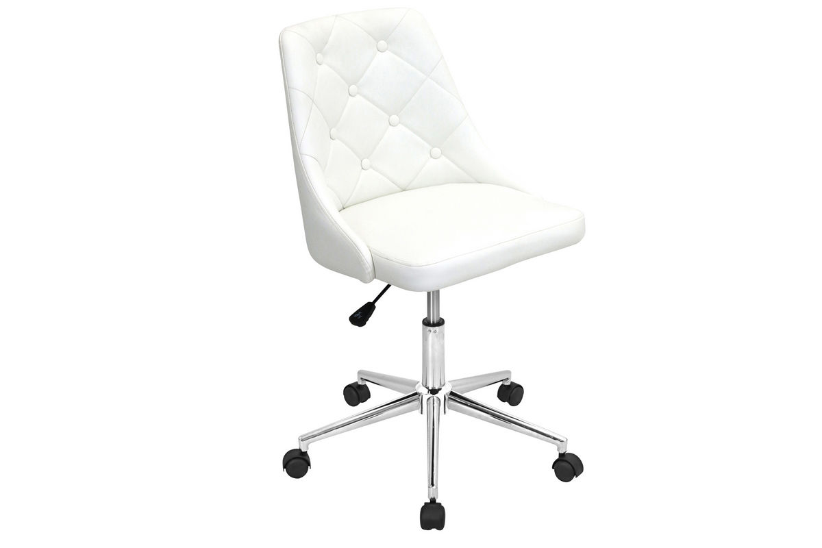 Marche White Office Chair by LumiSource from Gardner-White Furniture