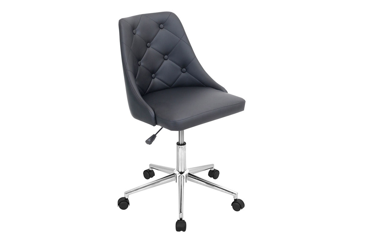 Marche Black Office Chair by LumiSource from Gardner-White Furniture