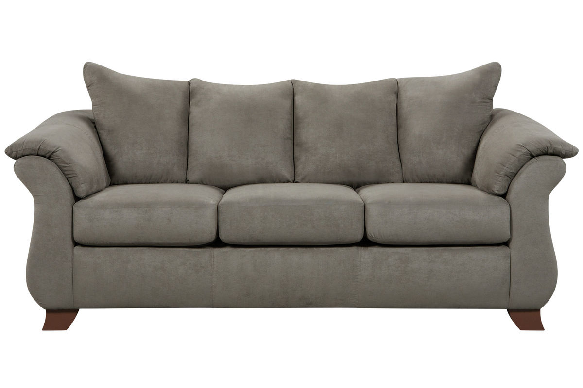 Upton Microfiber Sofa From Gardner White Furniture