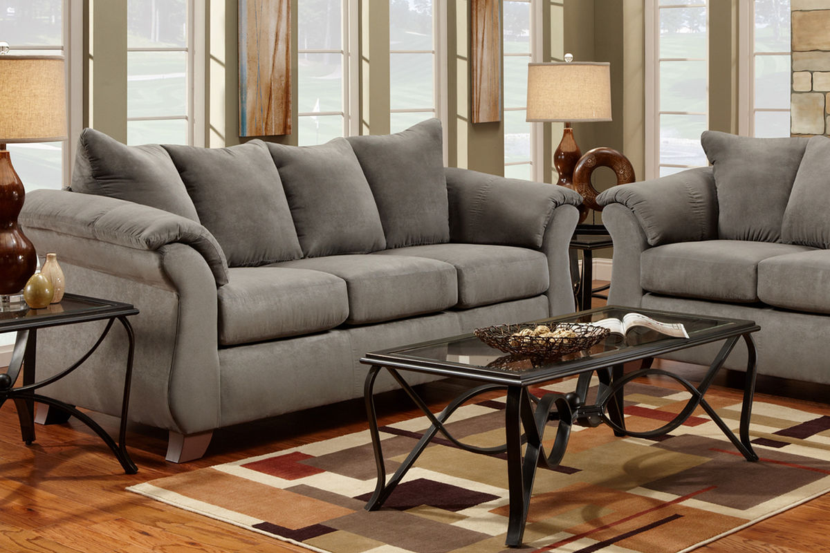 Sofa Clearance Outlet 85 Atwood Cinnamon Fabric Sofa