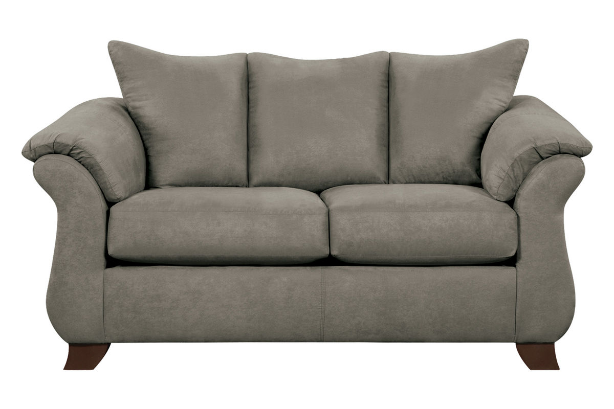 Upton Microfiber Loveseat from Gardner-White Furniture
