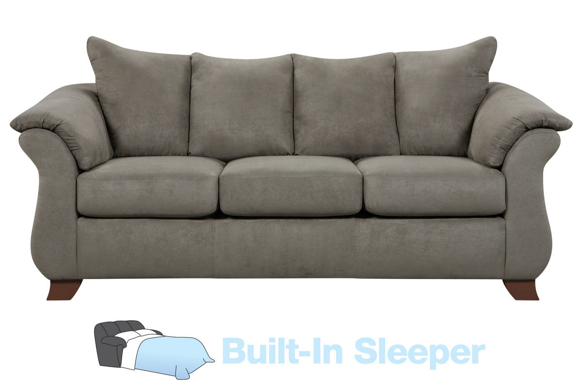 Upton Microfiber Queen Sleeper Sofa from Gardner-White Furniture