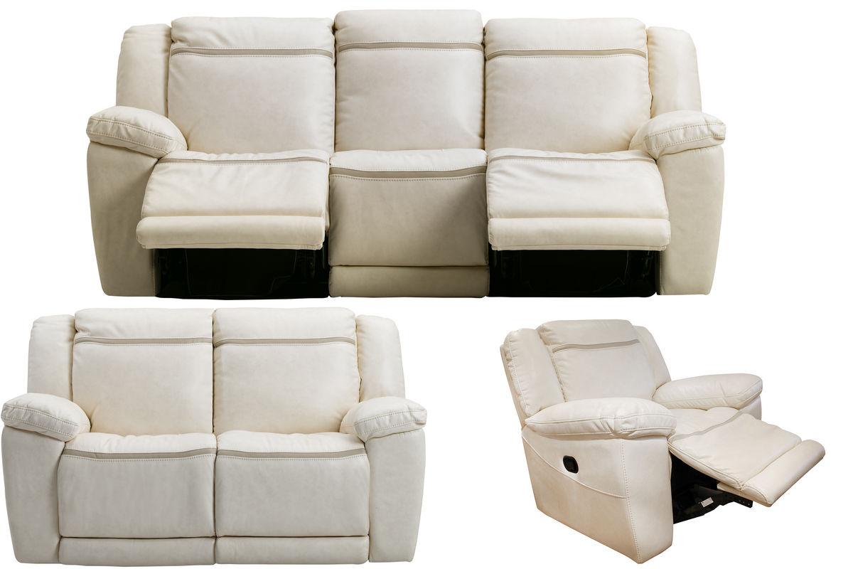Isabel Leather Reclining Sofa + Loveseat + Glider Recliner From  Gardner White Furniture