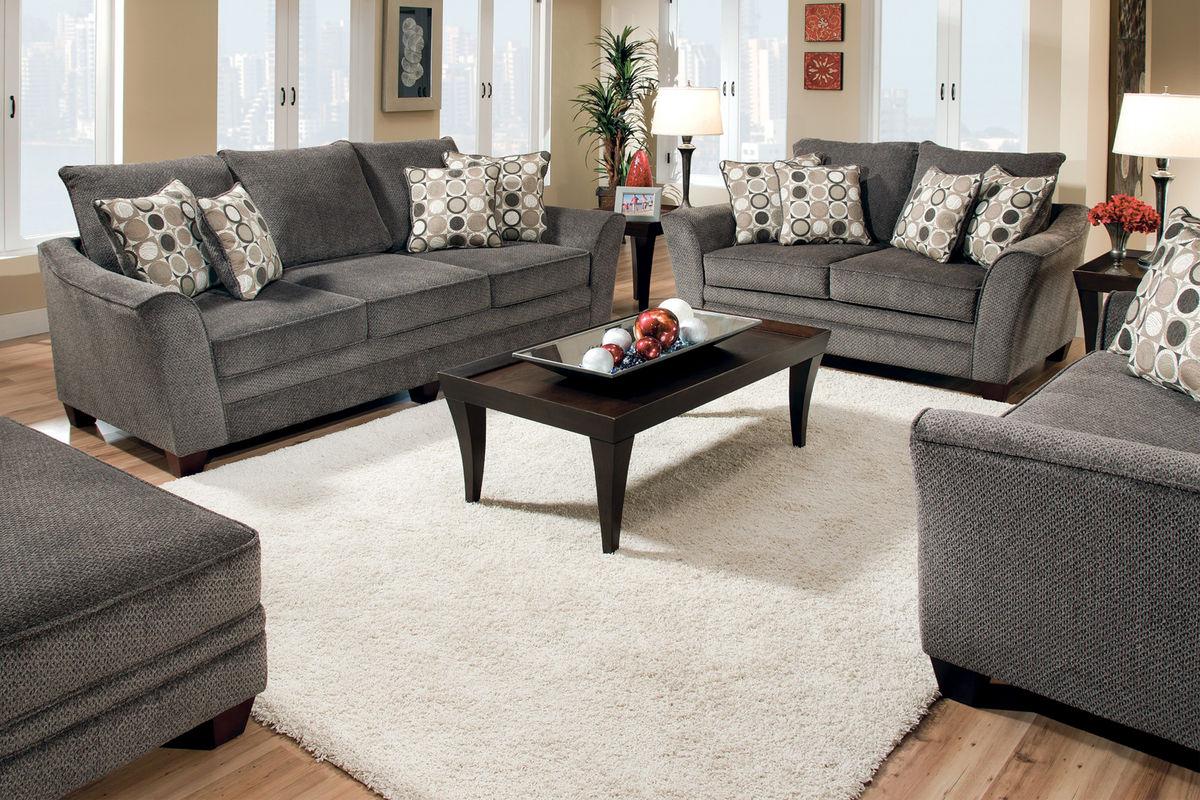 Icerink Chenille Sofa