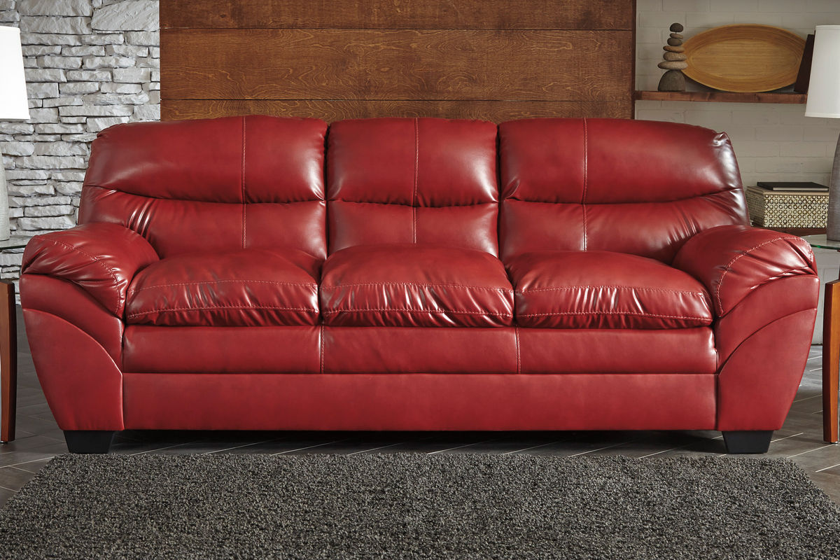 Carlton Bonded Leather Sofa