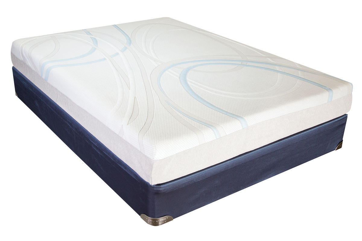 Sleep gel memory foam twin xl mattress at gardner white Twin mattress xl