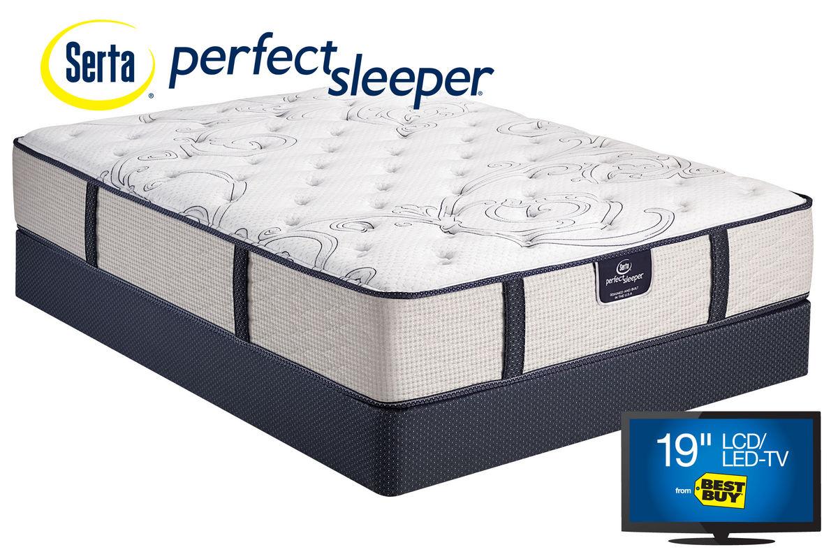 Serta Perfect Sleeper 174 Dunkin Plush King Mattress
