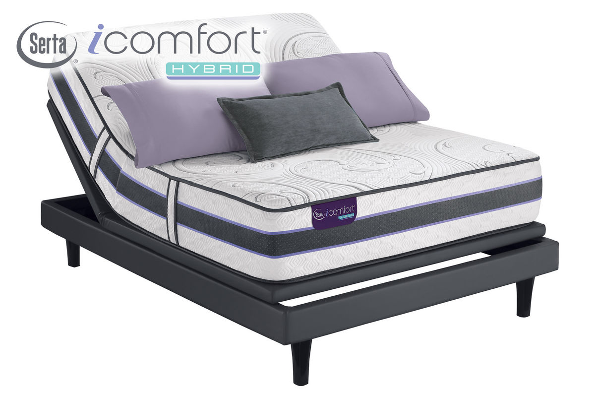 Icomfort King Mattress New Sleeper Sofa Queen Mattress Couch Bed Serta Icomfort Hybrid Hb300
