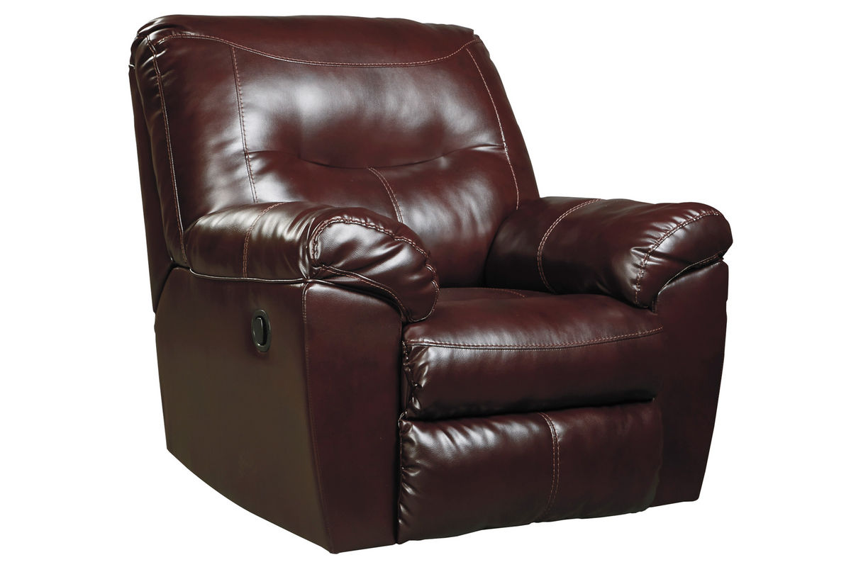 Kilzer Leather Rocker Recliner At Gardner White
