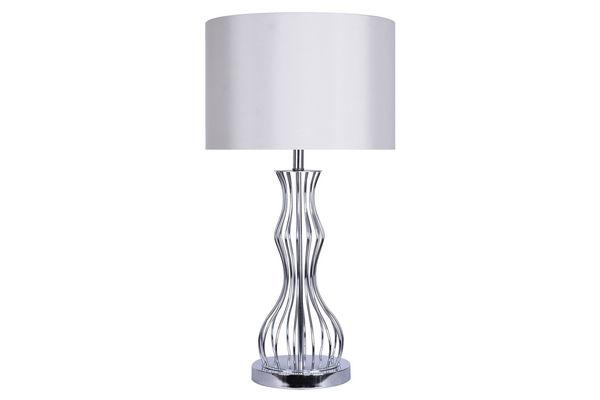 Shop lighting at gardner white wave table lamp save 73 now 7688 aloadofball Images