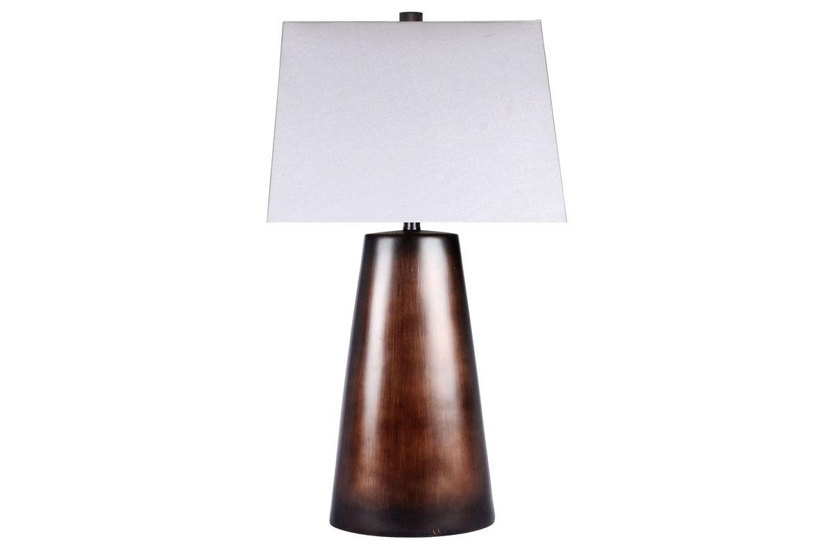 Brushed Brown Table Lamp from Gardner-White Furniture