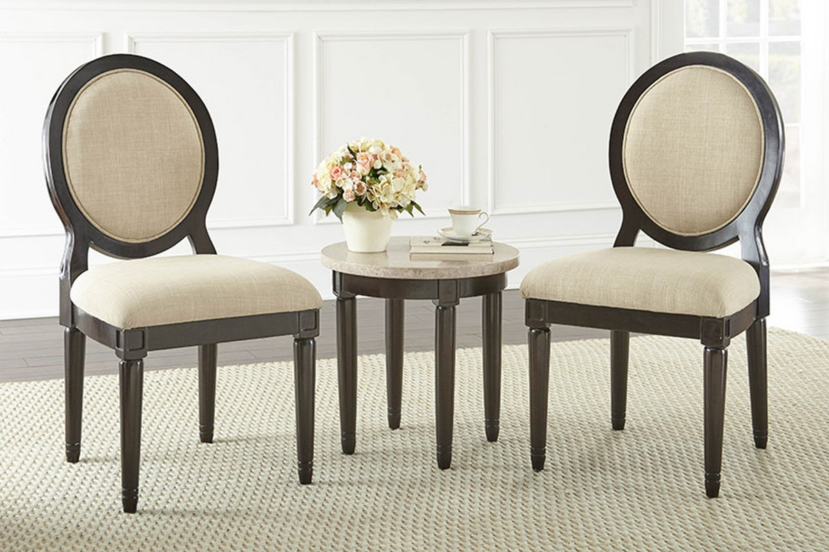 Philly round corner table with 2 chairs at gardner white philly round corner table with 2 chairs from gardner white furniture watchthetrailerfo