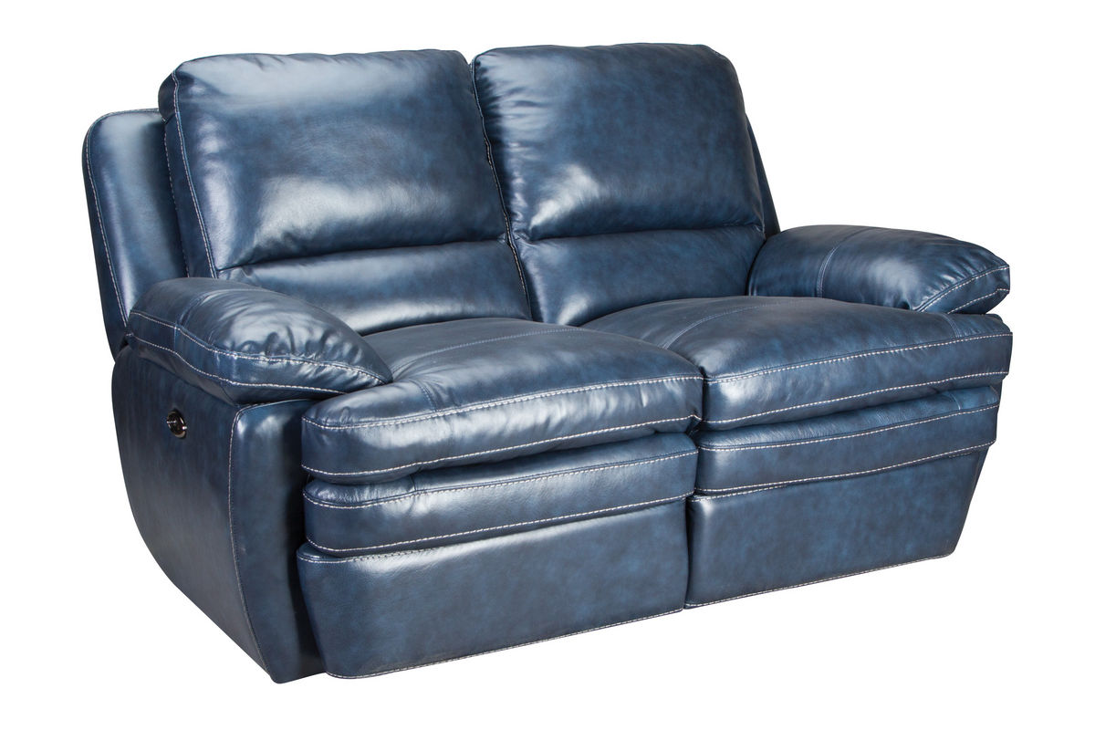 Mazarine power reclining loveseat at gardner white for Furniture 60 months no interest