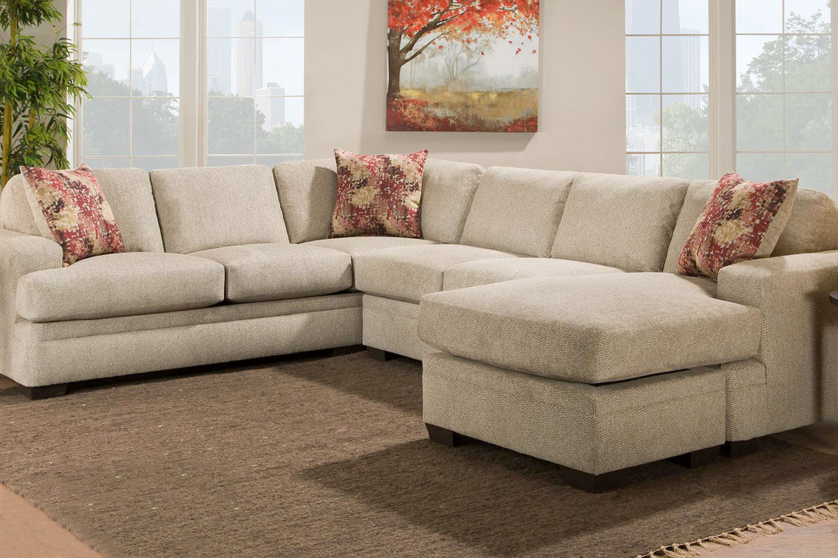 Cocoon Sectional u0026 Ottoman from Gardner-White Furniture : gardner white sectionals - Sectionals, Sofas & Couches