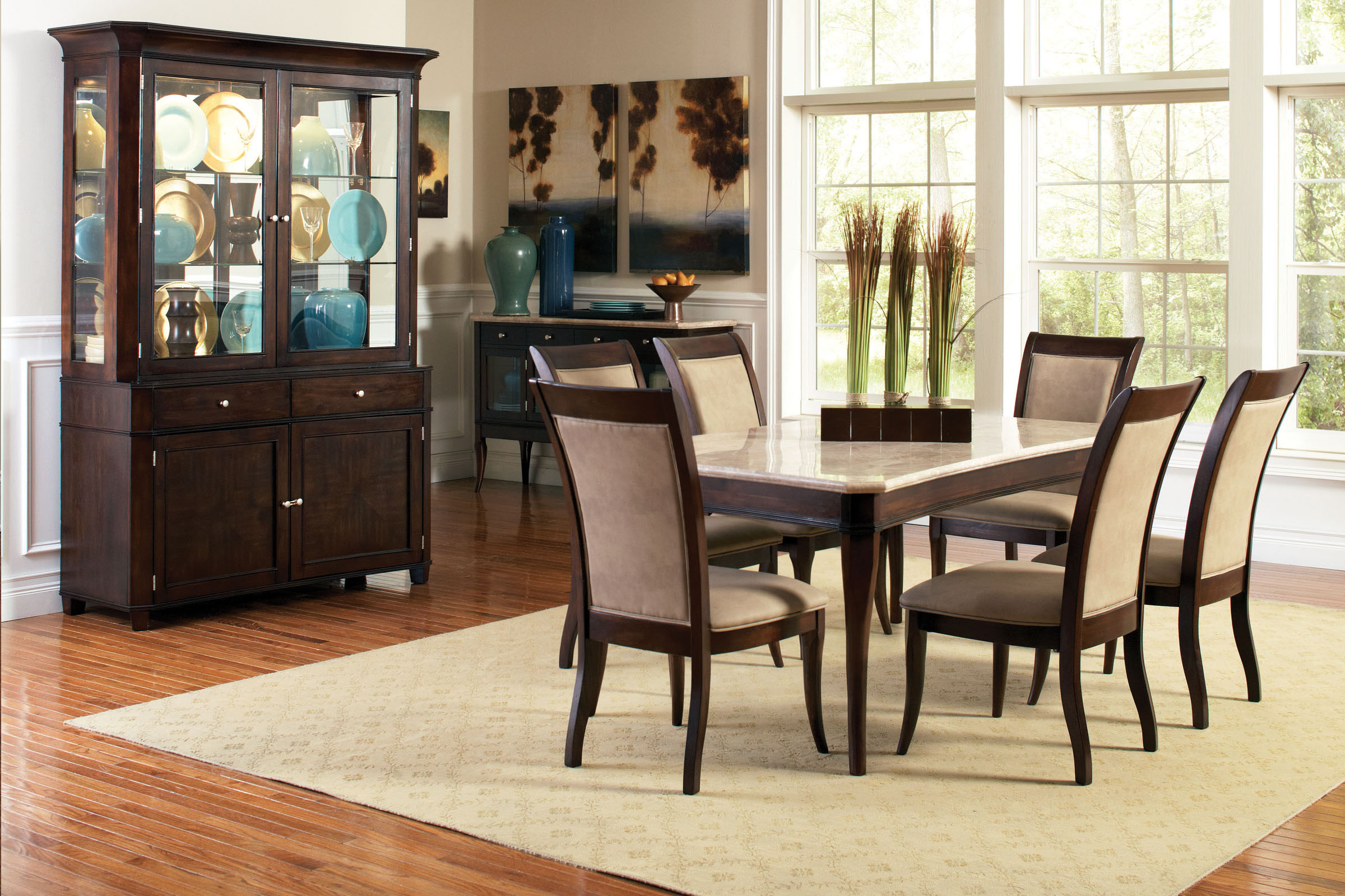 Pleasant Marseille Marble Conventional Dining Table Pabps2019 Chair Design Images Pabps2019Com