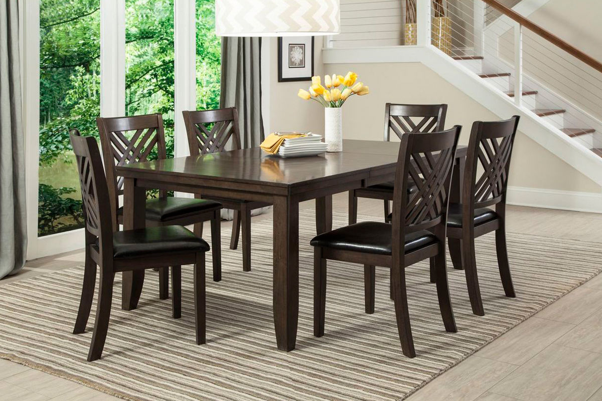 Lebaron Dining Table + 4 Chairs