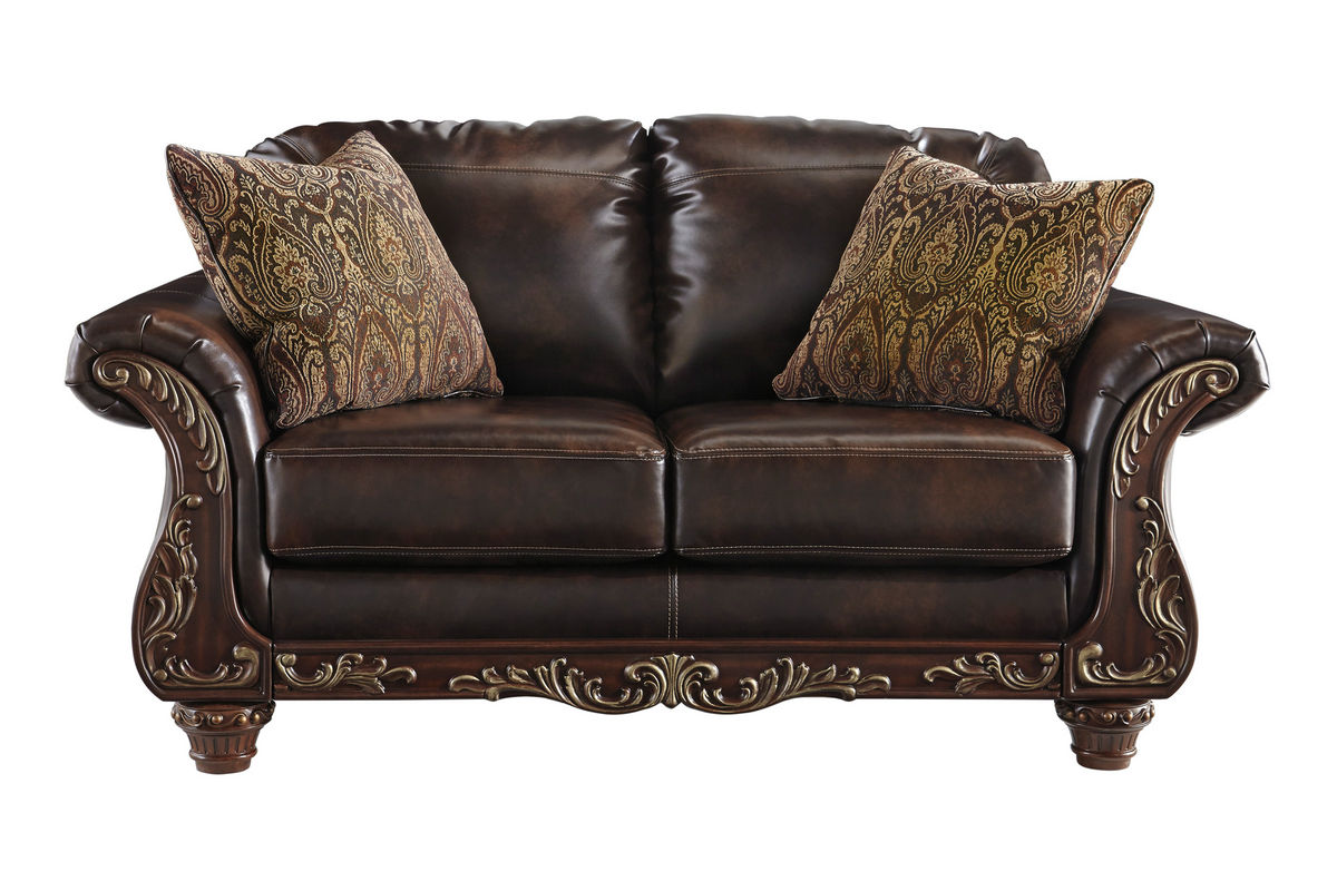 Awesome Vance Bonded Leather Loveseat Pdpeps Interior Chair Design Pdpepsorg